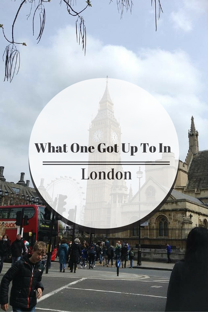 Find out what I got up to on a Bank Holiday weekend in London!