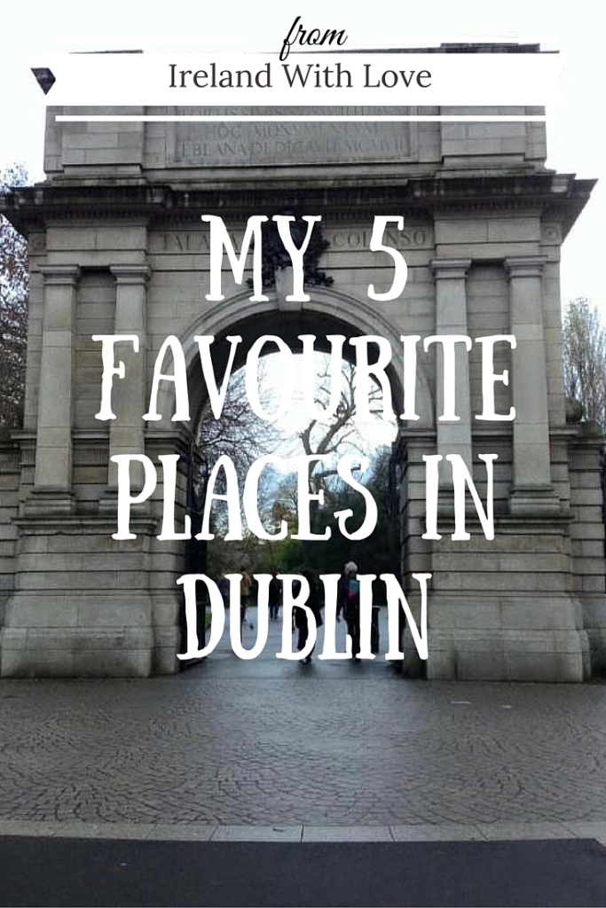 Looking for some inspiration for your next visit to Dublin? Check out my five favourite places in Dublin!