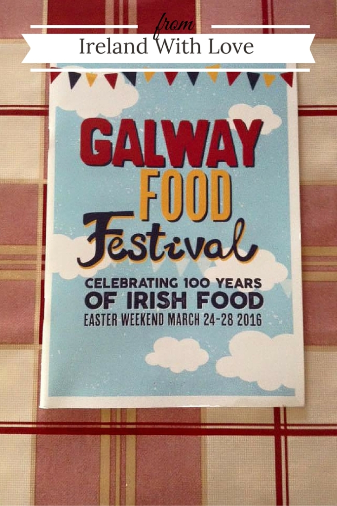 Find out what I got up to during the Galway Food Festival 2016.
